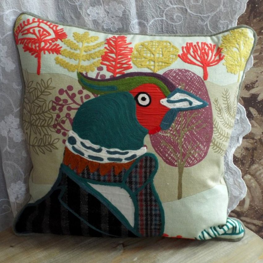 Parker Pheasant Cushion