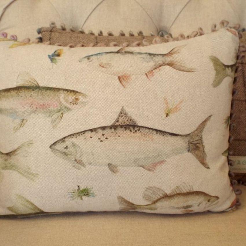River Fish - Mini Cushion